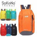 SoKaNo Trendz XM Korean Style Sport Travel Hiking Backpack 10L - Orange