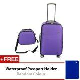 Travel Star Kainier Series 2 in 1 Luggage Bagasi Set 14 inches + 24 inches Purple