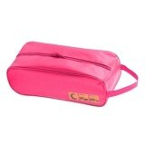 Waterproof Travel Shoe Bag (Pink)