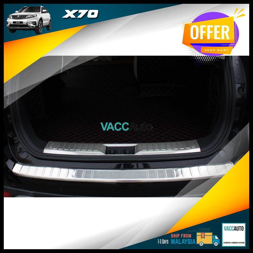 Proton X70 Rear Bumper Protector - IN