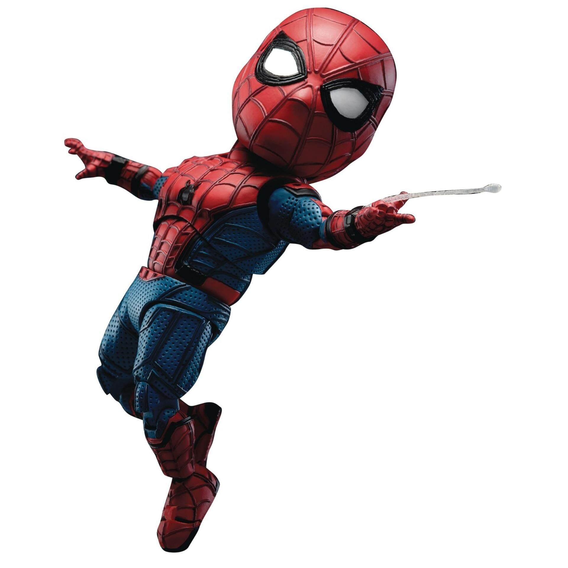 Beast Kingdom Spider-Man: Egg Attack Action - Homecoming Spider-Man (Backpack) (EAA-051) - Mainan Kanak Kanak Lelaki