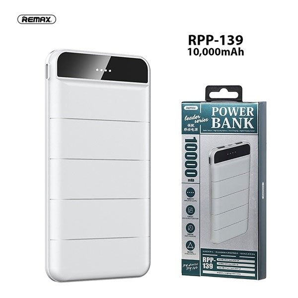 REMAX Power Bank RPP-139 10000mAh  (Fresh Import) New Arrival 100% Original
