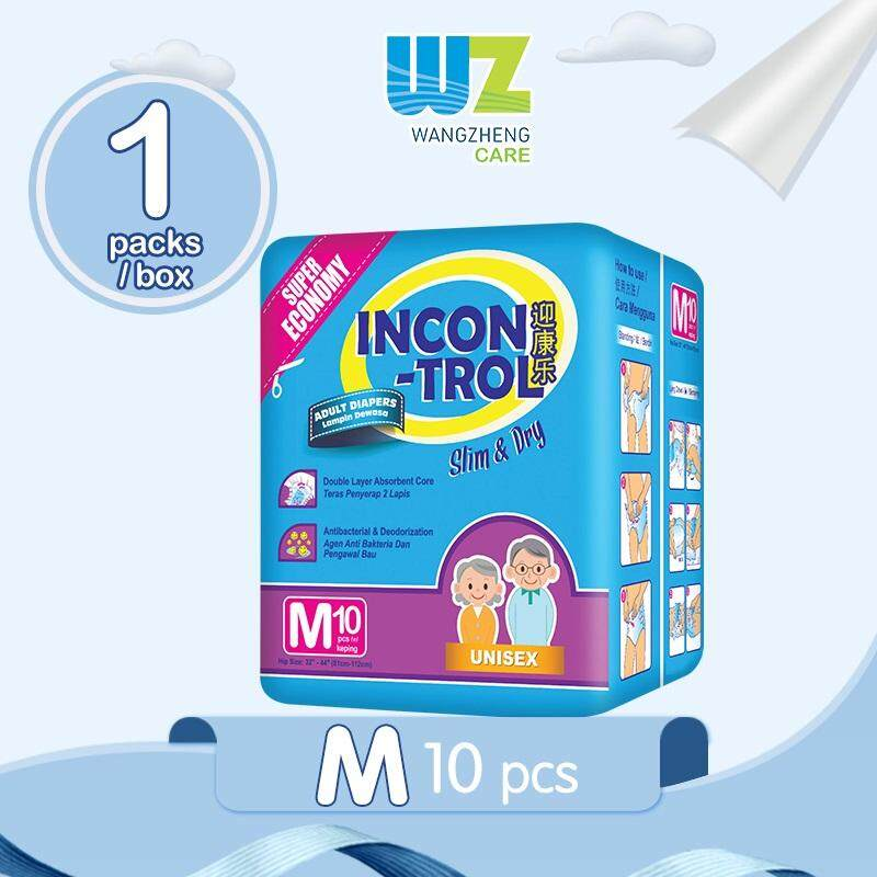 Incontrol Adult Tape Diapers M10 x 1 Pack [WangZheng CARE]