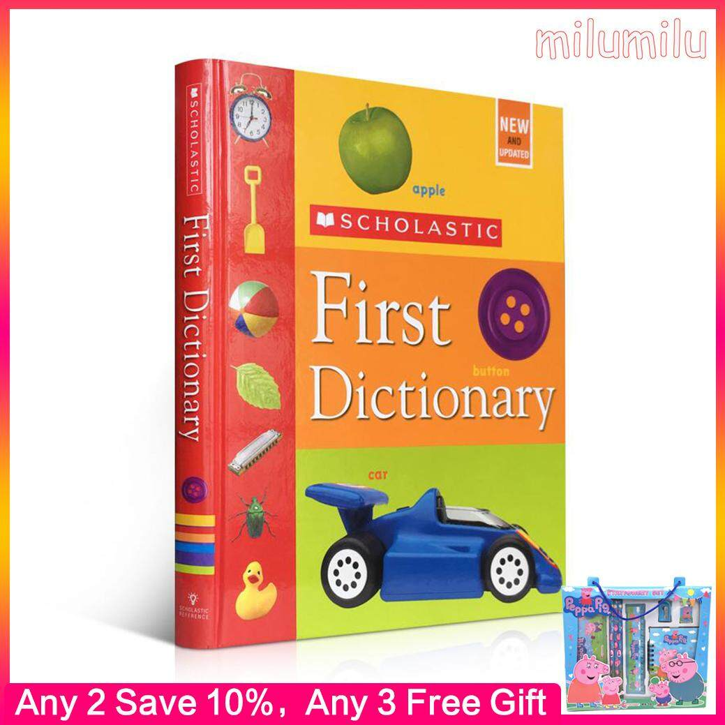 Original English Book Scholastic First Dictionary Judith S. Levey Childrens Educational Toy Picture Book