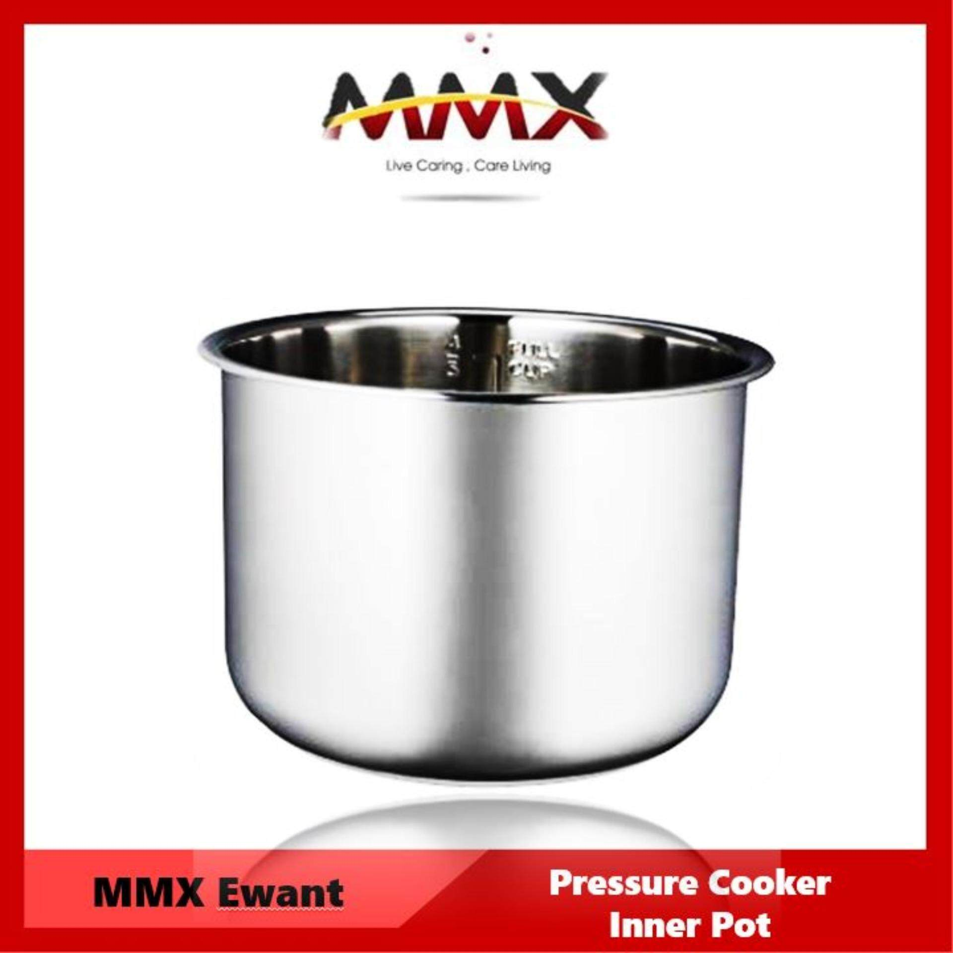 MMX - Ewant 6L pressure cooker Inner Pot - Stainless Steel (Replacement)