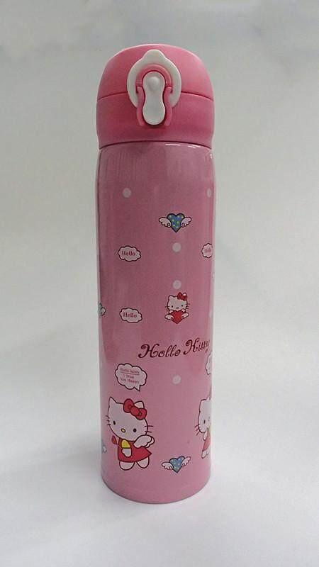 500ML Cartoon 304 Stainless Steel Thermos Flask (BGJAYA)-Hello Kitty