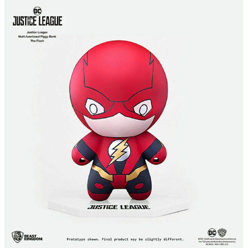 Beast Kingdom The Flash - Justice League Multifunctional Piggy Bank - Mainan Kanak Kanak Lelaki