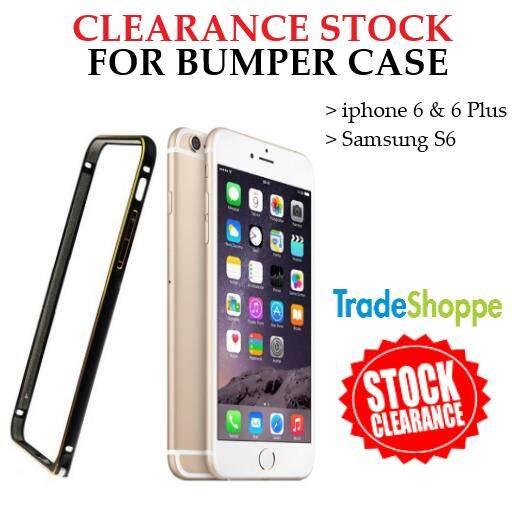 [CLEARANCE STOCK] Fashion Super Ultra Thin Aluminium Bumper Case For iPhone 4, 6 & 6 Plus, Samsung S6