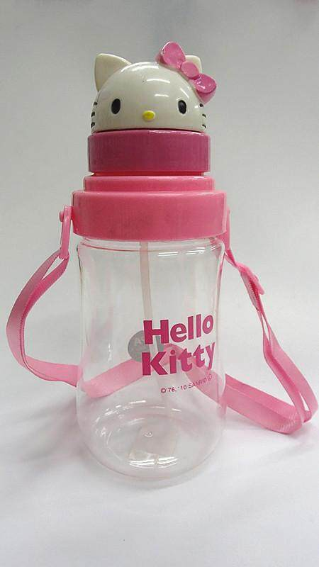 550ML Hello Kitty Water Bottle Drinking Bottle BPA Free Water Tumbler (BGJAYA)