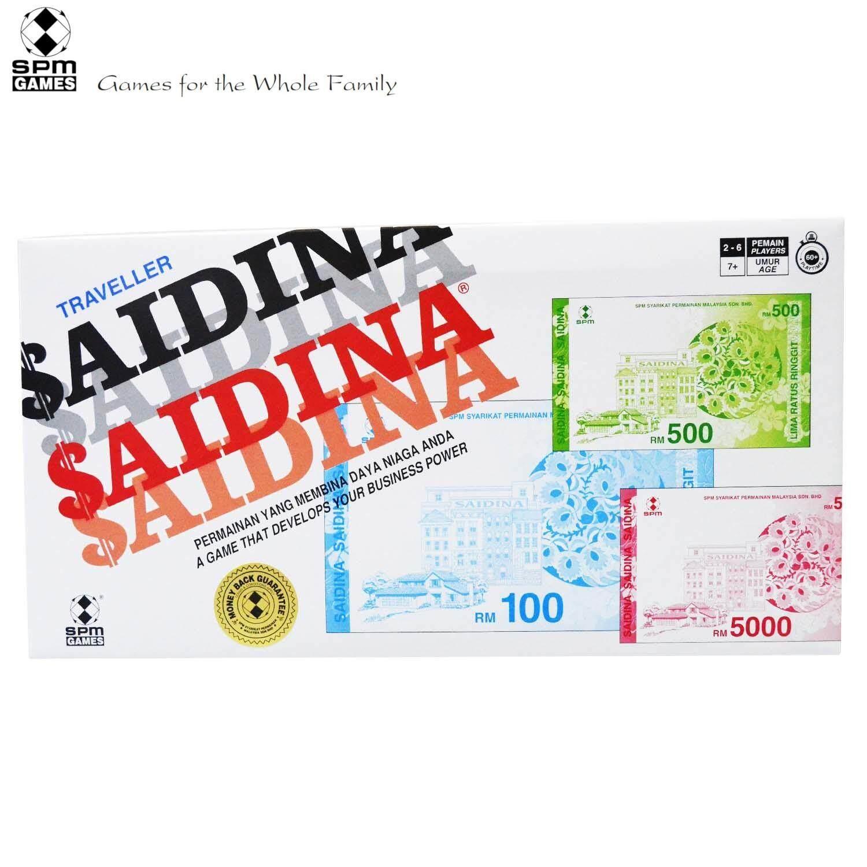 SPM Games Saidina Traveller, Bahasa Malaysia And English Edition