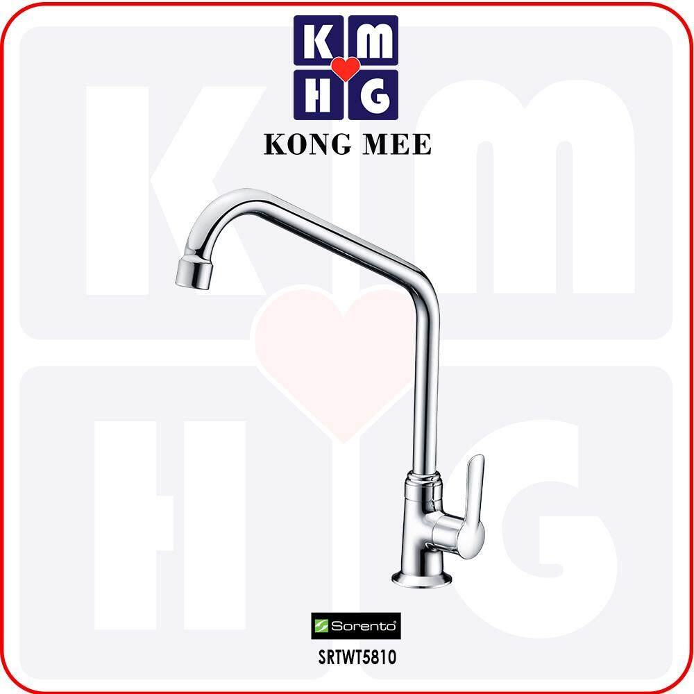 Sorento Italy - Wave 5800 Series Pillar Mounted Sink Tap (Counter-top Basin Faucet) (SRTWT5810) Kitchen Top Counter Restaurant Home Wash Dishes Water Soap Faucet Clean Pipe Food Cook Chef Premium Modern Luxury High Quality Long Lasting