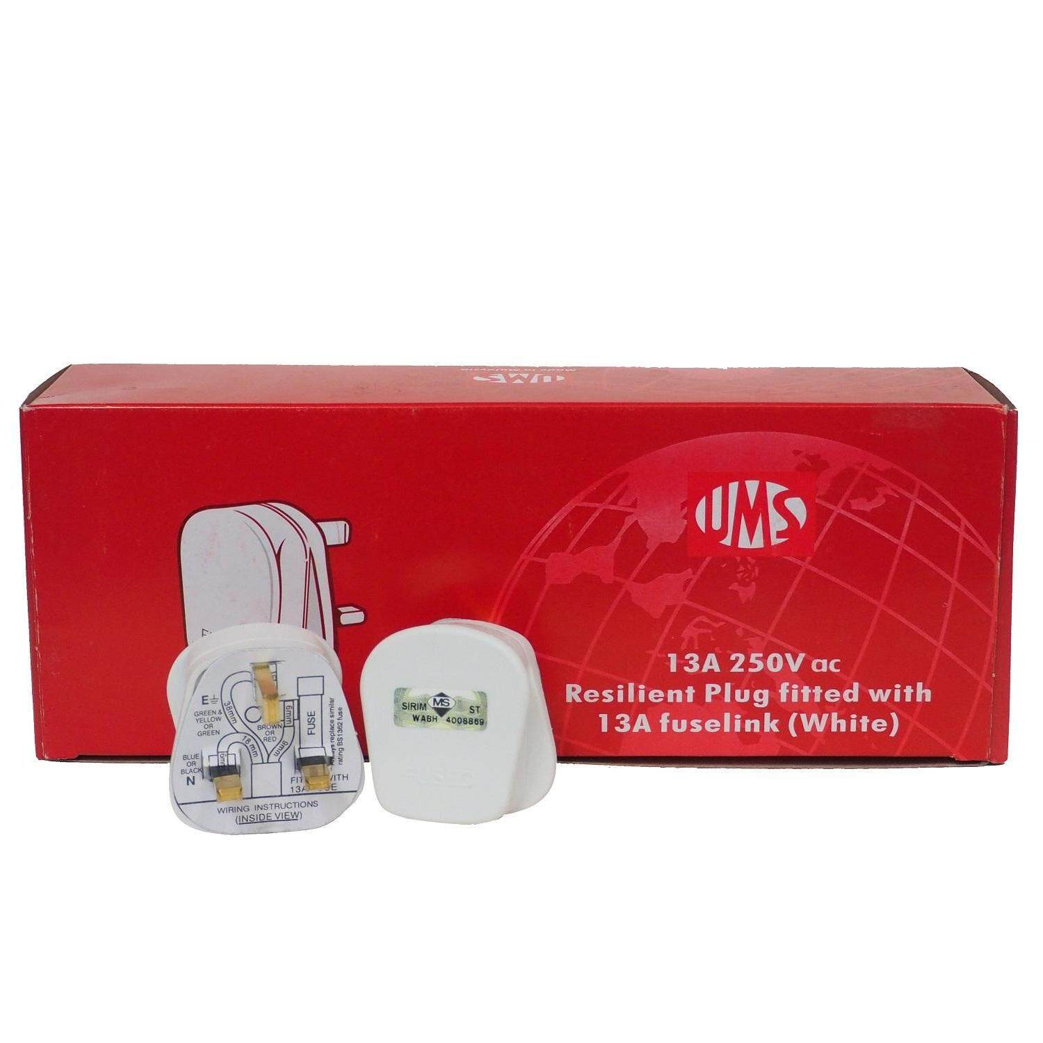 UMS 13A 250V 3PIN PLUG TOP (SIRIM Approved)