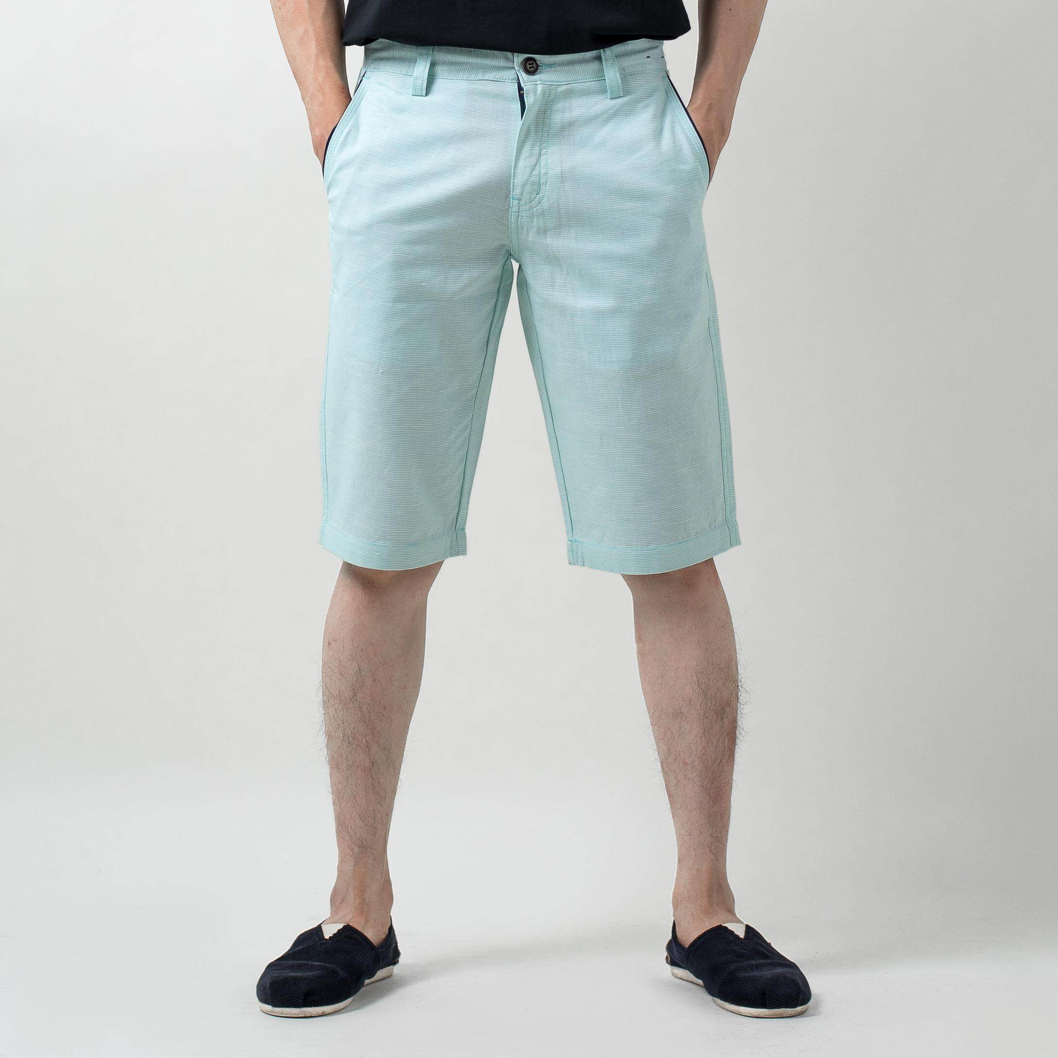 MEN'S CHINO SHORT PANTS PLAIN B49-51546-SSL#1#2