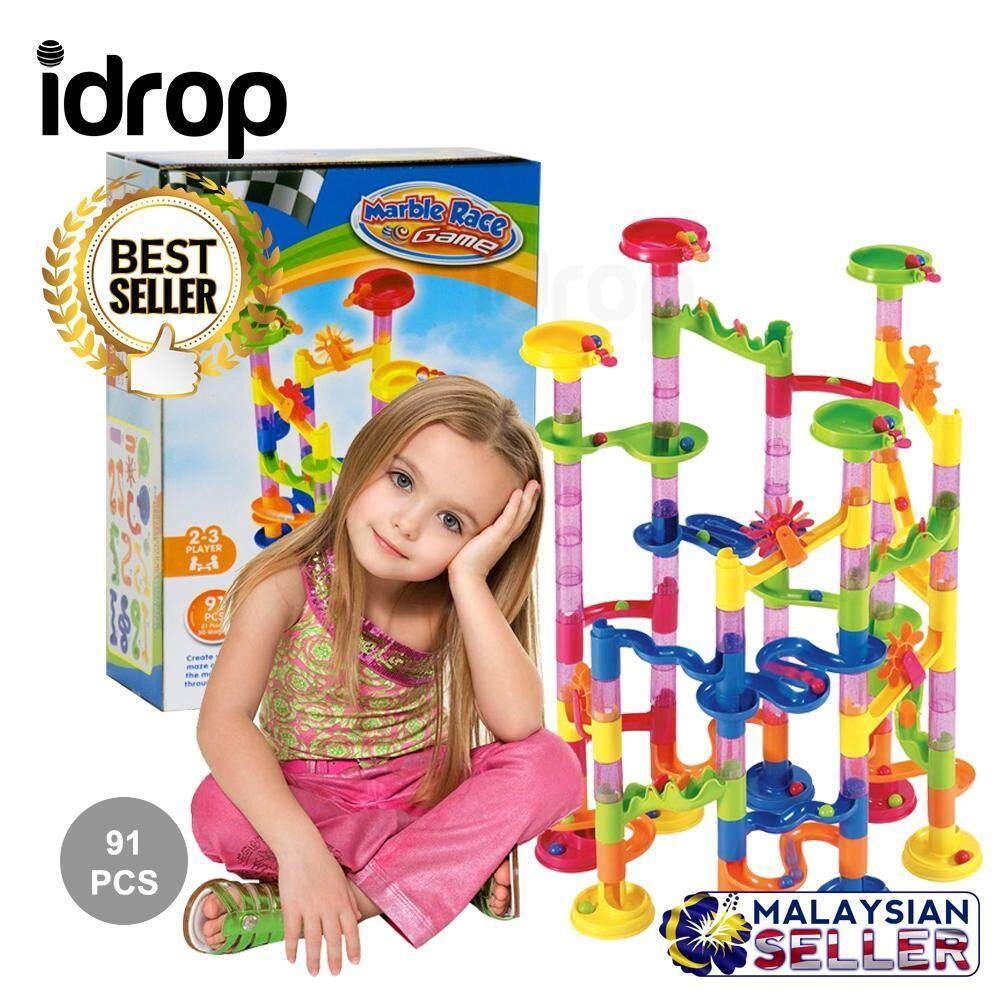 idrop 91 Pcs Marble Run Track Tower Building Bl And Children -