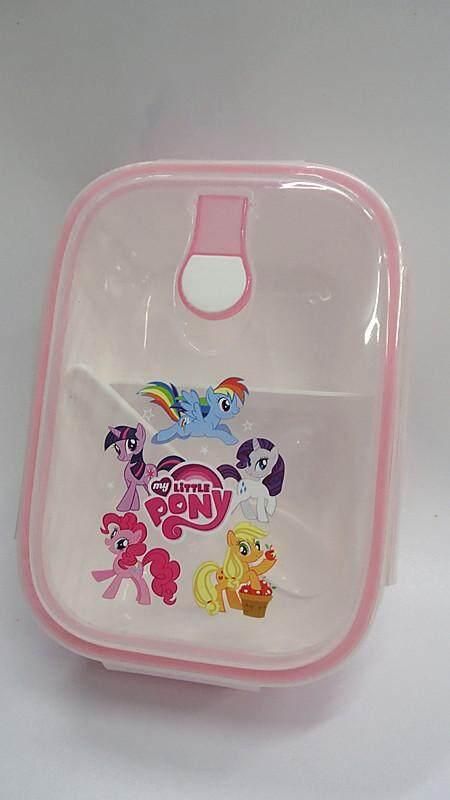 [Ready Stock] Cartoon Lunch Box Food Containers (BGJAYA)-My Little Pony