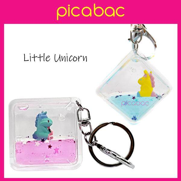 Picabac PREMIUM GIFTS bag charm unicorn keychain PACBC-UNIC01