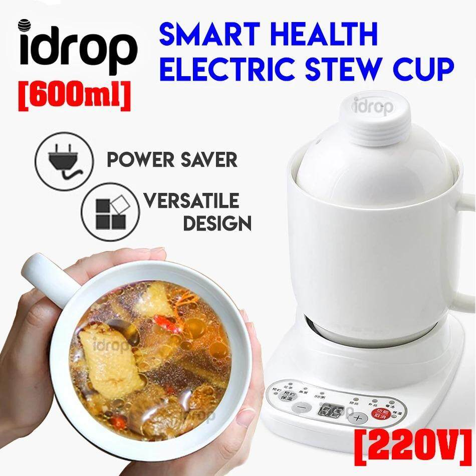 idrop 600ml Smart Health Electric Stew Cup