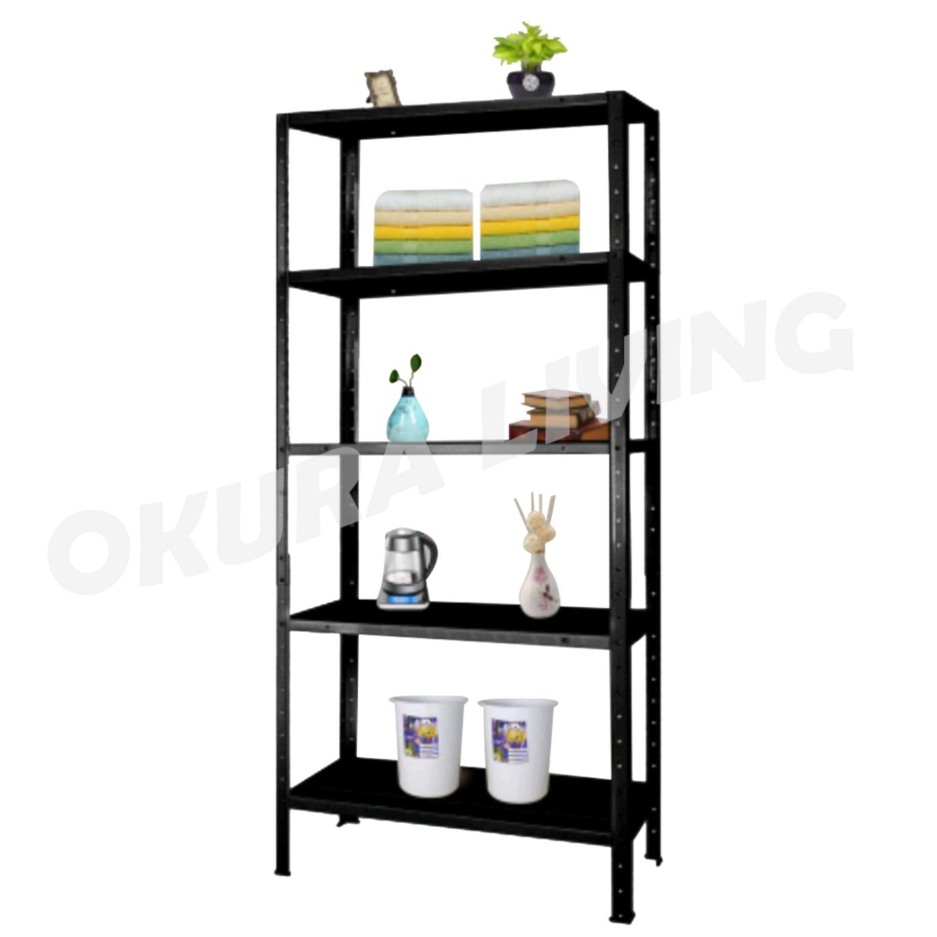 Okura 5 Tier Multipurpose Shelf Kitchen Home Office