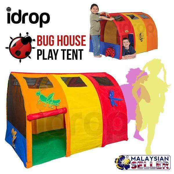 idrop Bug House Special Edition - Childrens Indoor Play Tent toys for girls -