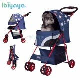 (100% AUTHETNTIC PET STROLLER) IBIYAYA PREMIUM Pop Art Pet DA-2740 Stroller – Starlit Captain