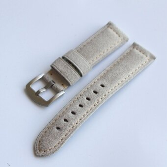 20mm/22mm/24mm retro leather matte male watch with leather strap