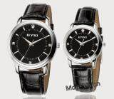 [Attractive Free Gift!] EYKI 8599 Couple Waterproof Leather Watch