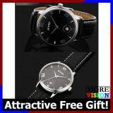 [Attractive Free Gift!] Sale!!! EYKI 8731 Couple Waterproof Leather Watch