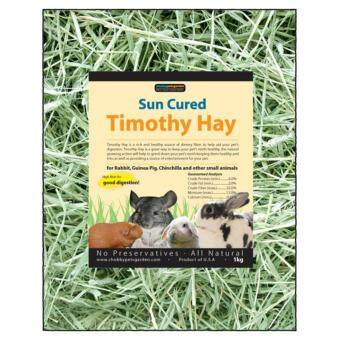 Chubbypetsgarden(R) Sun Cured Timothy Hay 1kg (35oz)