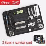 GRID-IT Accessory Organizer Pocket Bag Case Accessories +Free Gift (26cmx13cm - Medium) MI1192