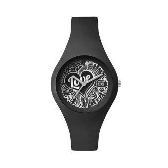 ICE-Watch-ICE love - Black Doodle - Small