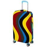 Joytour Stretchable Elastic Travel Luggage Bagasi Suitcase Protective - Strip Design