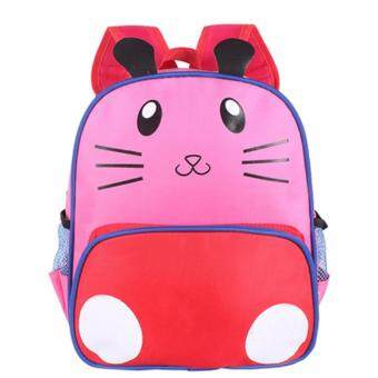 KIDS Kindergarten Nursery Pink Kitten Kid Children Toddler JuniorCartoon Bag Backpack