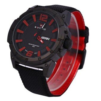 Naviforce 9066 Male Watch Calendar 3D Dial Analog 2