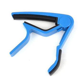 niceEshop Single,handed Guitar Capo Quick Change,Blue