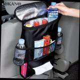 SOKANO Car Seat Back Multi-Pocket Storage Bag Organizer- Black