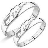 SOKANO Couple Ring CR003 With Adjustable Ring Size (Free Gift Box)