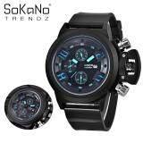 SoKaNo Trendz 7166 Men Premium Sport Watch - Blue