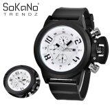 SoKaNo Trendz 7166 Men Premium Sport Watch - White