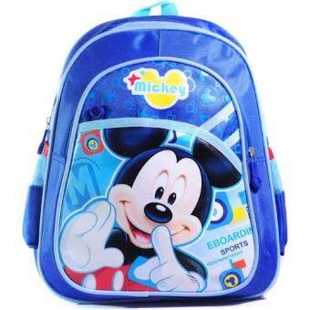 TEEMI Kids Preschool Backpack Kindergarten Nursery School ChildrenCartoon Bag - Blue Mickey