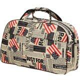 Travel Star 688 Large Capacity Duffle Travel Bag- Flag Design