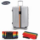 Travel Star Adjustable Length Luggage Bagasi Strap With Buckle