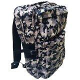 Travel Star Large Capacity 8053 Travel and Outdoor Backpack- Army Grey