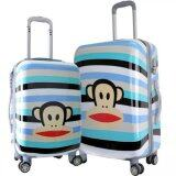 Travel Star Ultralight Weight Luggage Bagasi 2 in1 Set (20 Inch+24Inch)- Blue Monkey