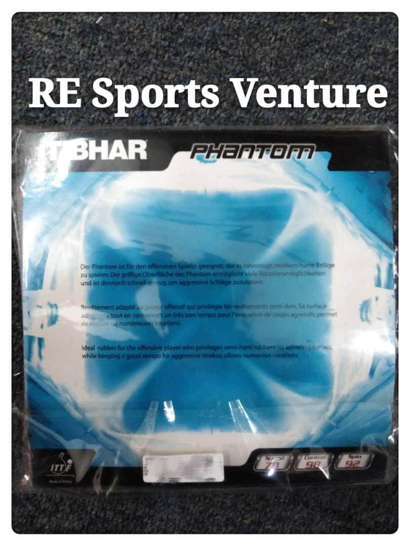 Tibhar Phantom Table Tennis Rubber