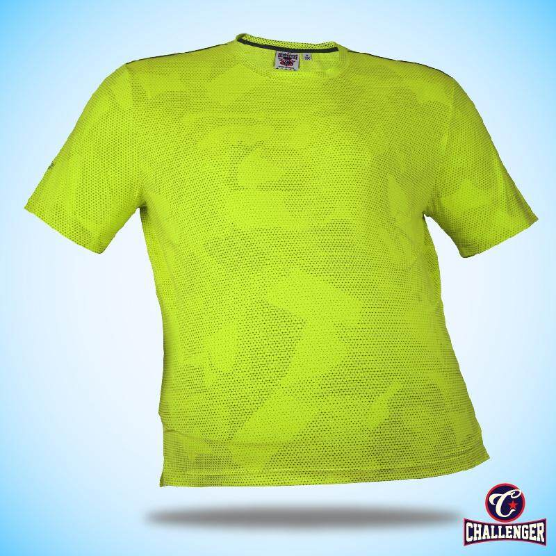CHALLENGER BIG SIZE Ezdry RN SS Tee CH1026 (Neon Green)