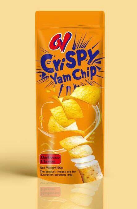 CV Yam chip 4 Flavor (Seaweed / BBQ / Chicken / Tomato)