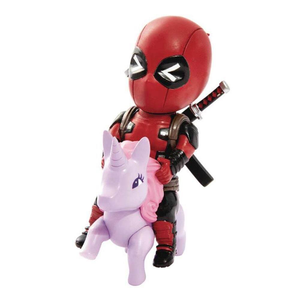 Beast Kingdom Marvel Comics: Mini Egg Attack - Deadpool Pony (MEA-004) - Mainan Kanak Kanak Lelaki