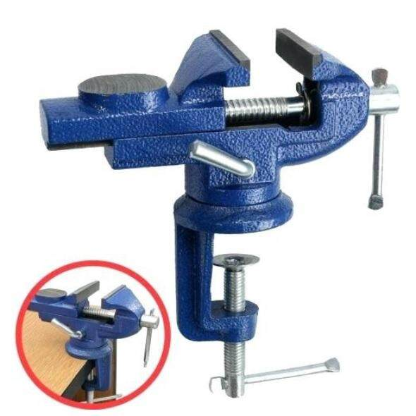 60mm Heavy Duty Table Vise 360° Swivel Base
