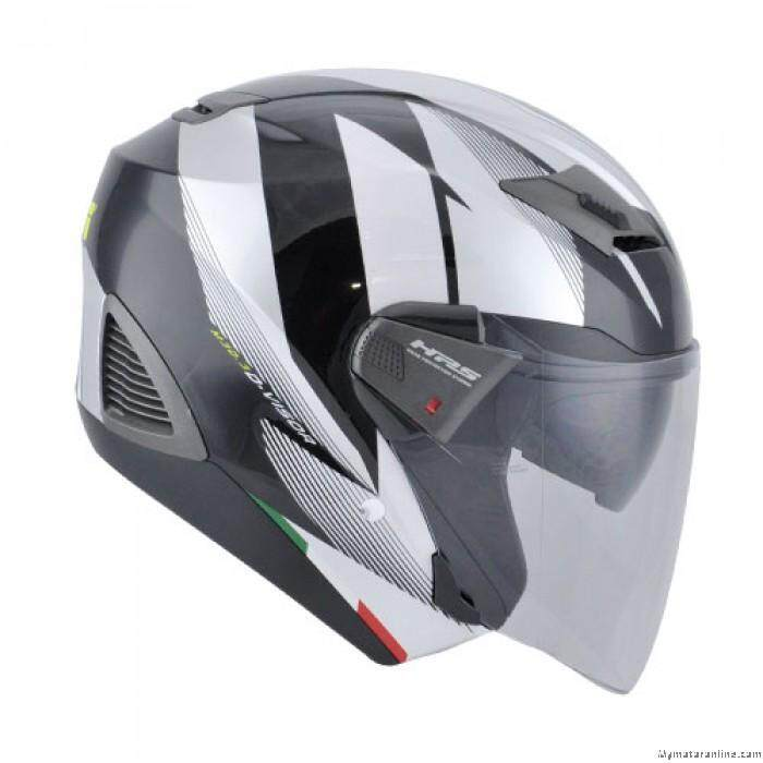 Original GIVI M30.3 D-Visor Graphic Speed Black Motorcycle Helmet