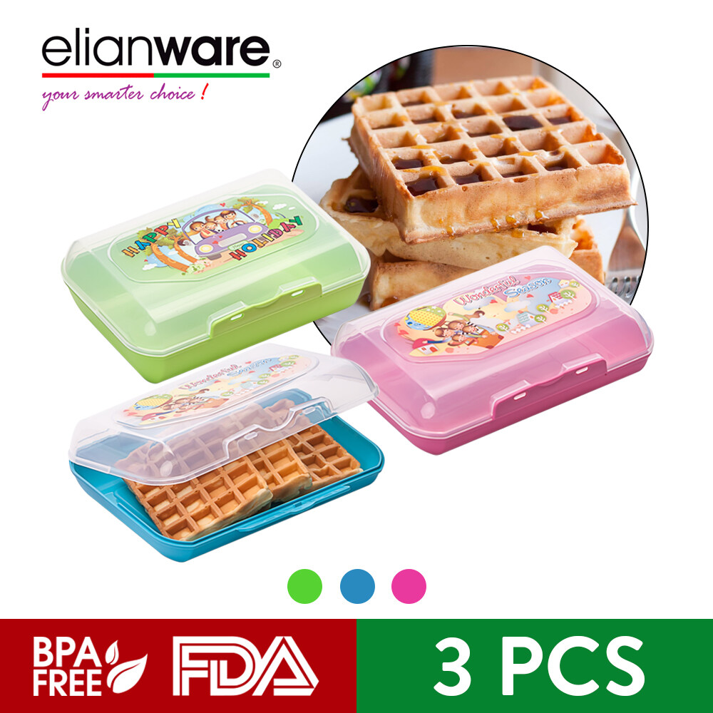 Elianware 1100ml Microwavable Kid Lunch Box